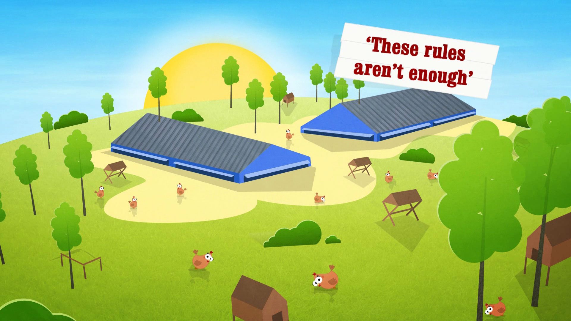 Happy hens - Brand explainer video image